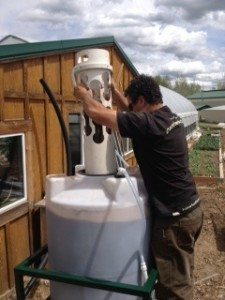 Brewing aerated compost tea